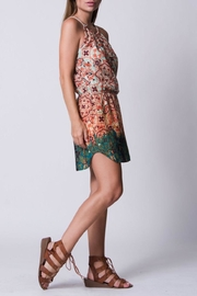 Wanderlux Printed Halter Mini - Front cropped