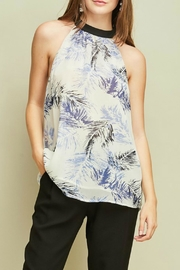 Entro Printed Halter Top - Product Mini Image