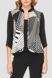 Joseph Ribkoff Printed Jacket+top - Product Mini Image