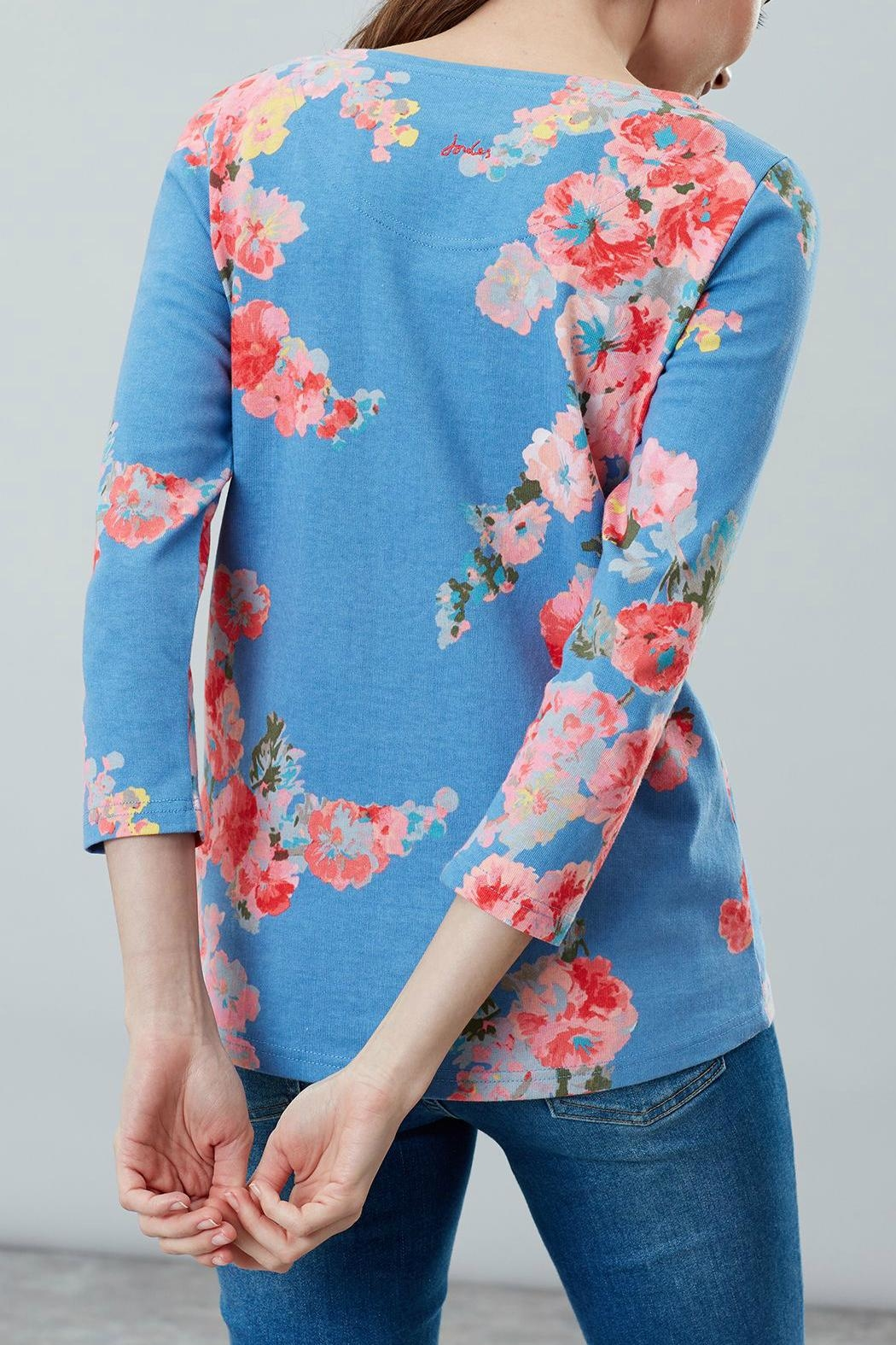 Joules Printed Jersey Top - Back Cropped Image
