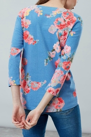 Joules Printed Jersey Top - Back cropped