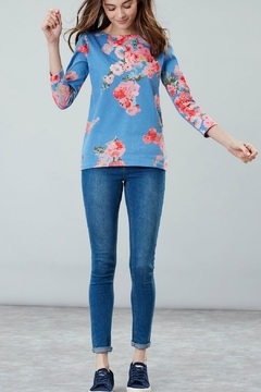Joules Printed Jersey Top - Product List Image