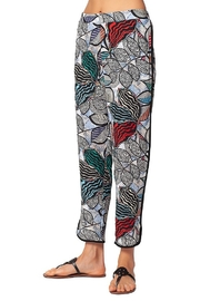 Isle Apparel Printed Jogger Pant - Front cropped