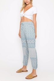 Olivaceous Printed Joggers - Back cropped