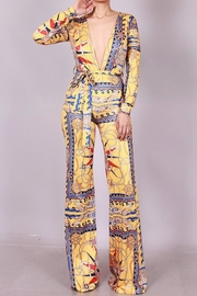 SJ Style Printed Jumpsuit - Front cropped