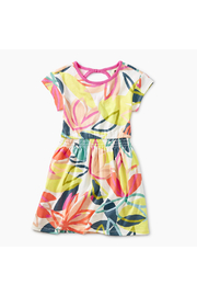 Tea Collection Printed Keyhole Dress - Product Mini Image