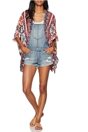 Angie Clothes Printed Kimono Cardigan - Product Mini Image