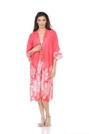 Kareena's Printed Kimono Cover-Up - Product Mini Image