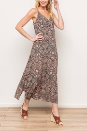 Mystree Printed Maxi - Front cropped