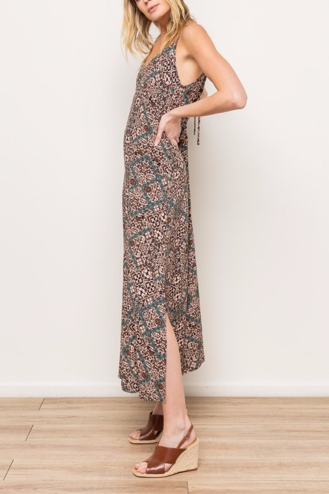 Mystree Printed Maxi - Side Cropped Image