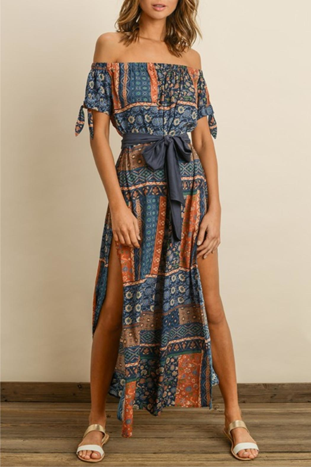 dress forum Printed Maxi Dress - Main Image