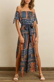 dress forum Printed Maxi Dress - Front cropped