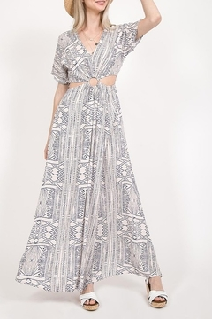Very J Printed Maxi Dress - Product List Image