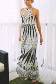 Listicle Printed Maxi Dress - Product Mini Image