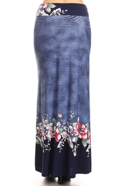 Moa Printed Maxi Skirt - Back cropped
