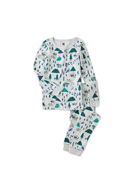 Tea Collection Printed Pajamas - Front cropped