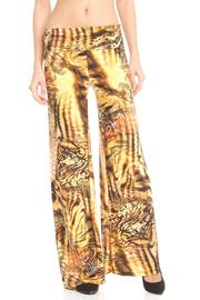 Venezia Printed Palazzo Pants - Product Mini Image