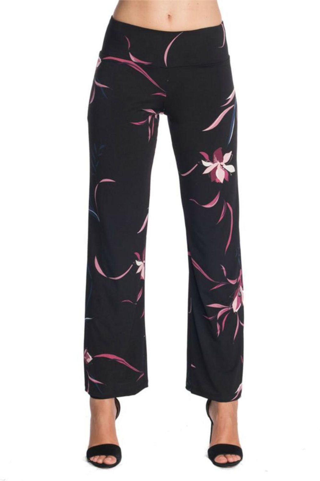 Last Tango Printed Pant - Front Cropped Image