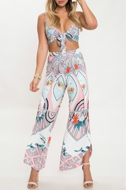 L'atiste Printed Pant Set - Product Mini Image