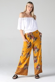 Angie PRINTED PANTS - Front cropped