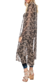 Buddy Love Printed Roberts Duster - Front full body