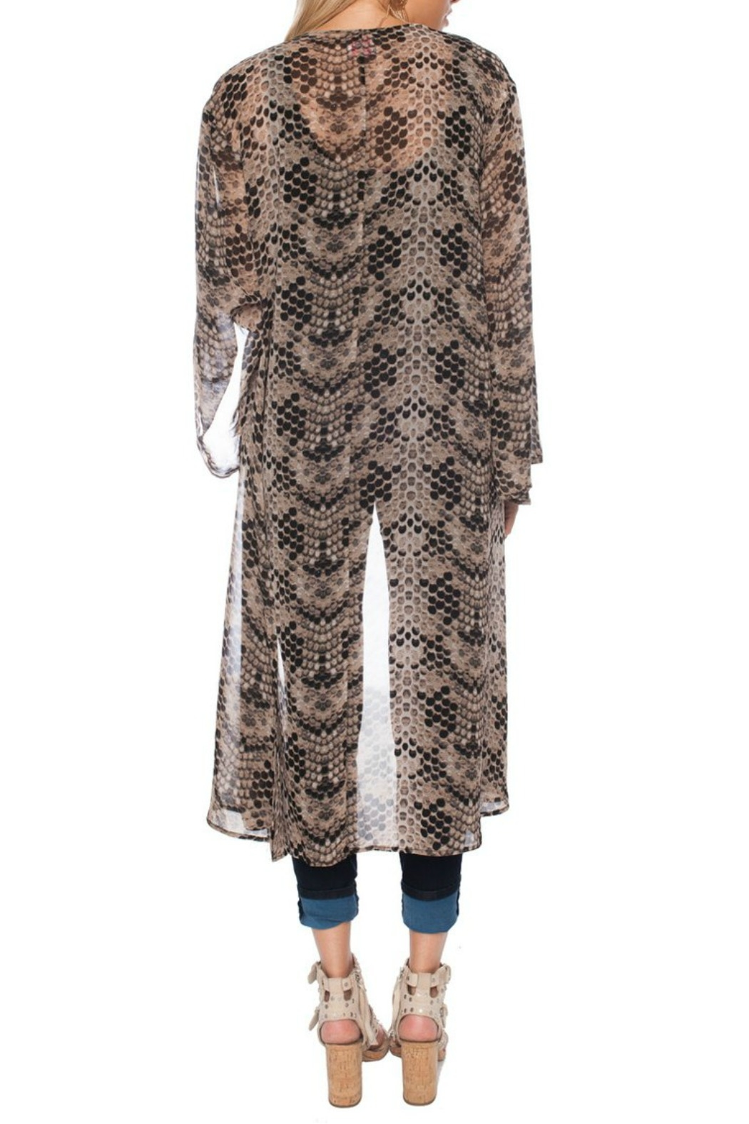 Buddy Love Printed Roberts Duster - Side Cropped Image