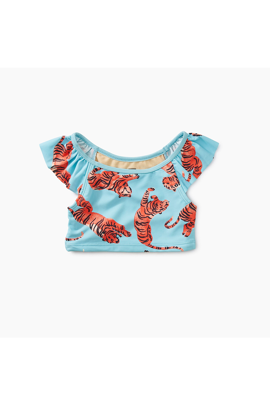 Tea Collection Printed Ruffle Tankini Set - Front Cropped Image