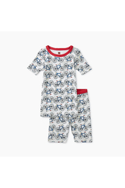 Tea Collection Printed Shortie Pajamas - Front cropped