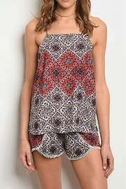 Rousseau Printed Shorts - Front cropped