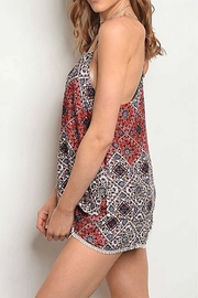 Rousseau Printed Shorts - Front full body