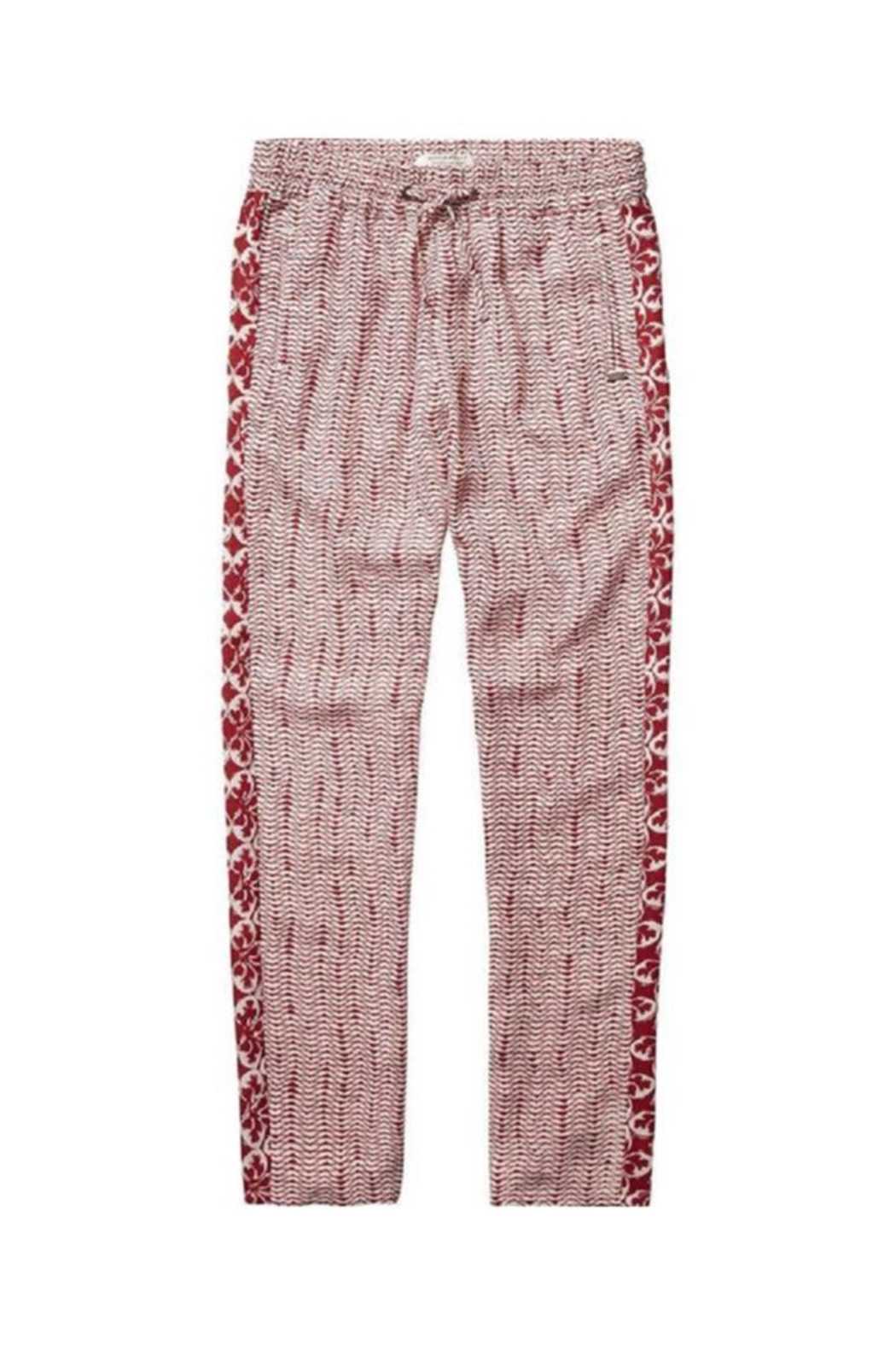 Scotch R'Belle Printed Silky Pant - Main Image