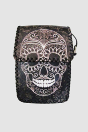 Ole' Skull Print Crossbody Bag - Front cropped