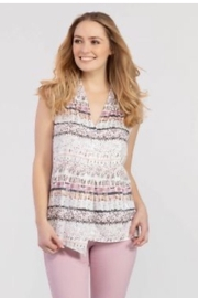 Tribal Printed sleeveless top - Product Mini Image