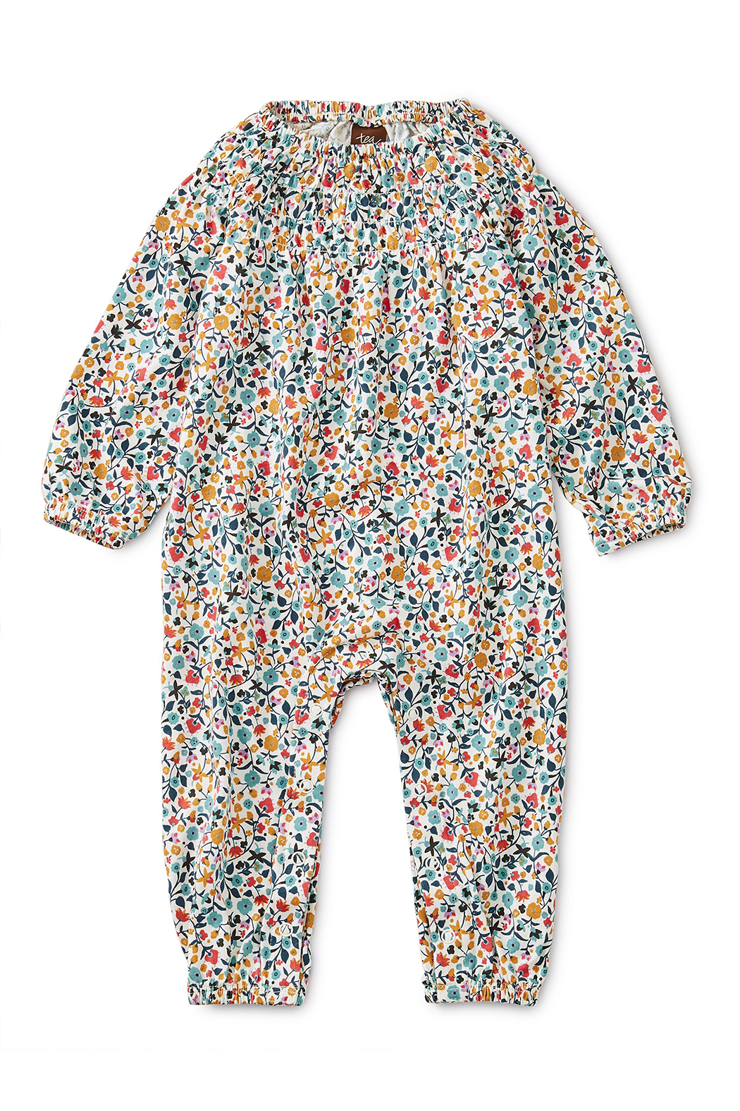 Tea Collection Printed Smocked Romper - Main Image