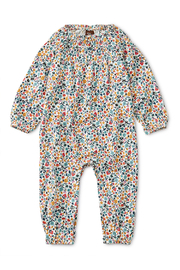 Tea Collection Printed Smocked Romper - Product Mini Image