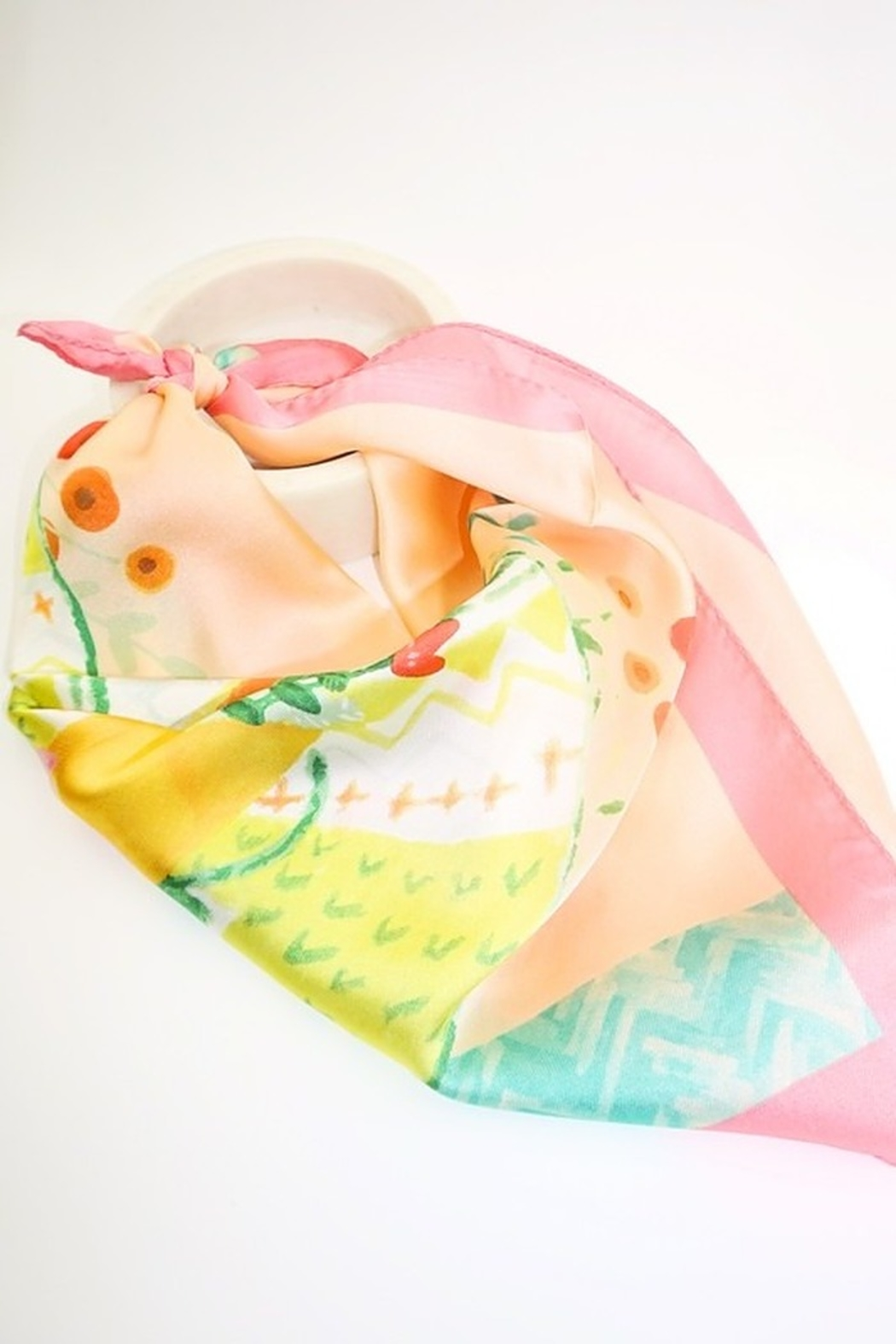 arthur jane claire  Printed Square Scarf - Front Cropped Image
