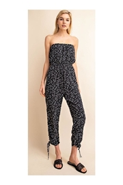 Gilli Printed Strapless Jumpsuit - Front cropped