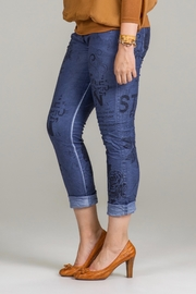 Bella Amore Printed Stretch Pant - Product Mini Image