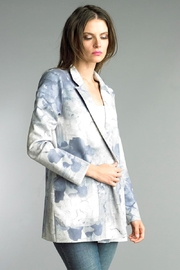 Tempo Paris Printed Suede Jacket - Product Mini Image