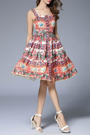 Fashion Pickle Printed Summer Dress - Product Mini Image
