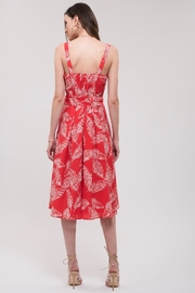J.O.A. Printed Sun Dress - Side cropped