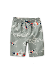 Tea Collection Printed Swim Trunks - Product Mini Image