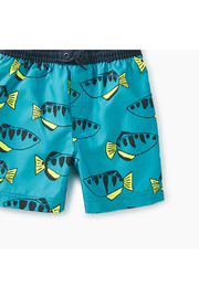Tea Collection Printed Swim Trunks - Front full body