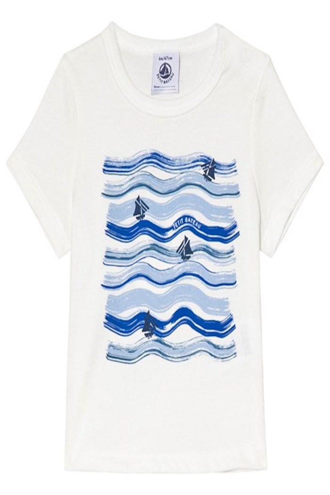 Petit Bateau Printed t-Shirt - Front Cropped Image