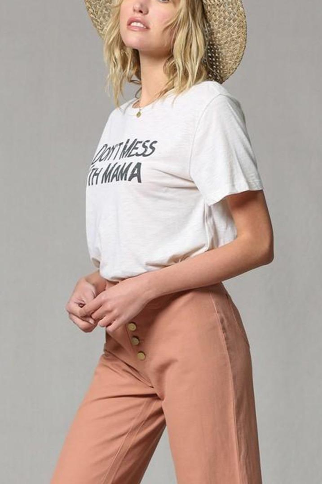 By Together Printed T-Shirts - Side Cropped Image