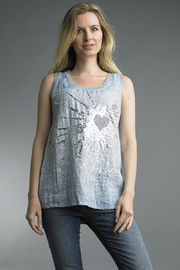 Tempo Paris  PRINTED TANK - Product Mini Image