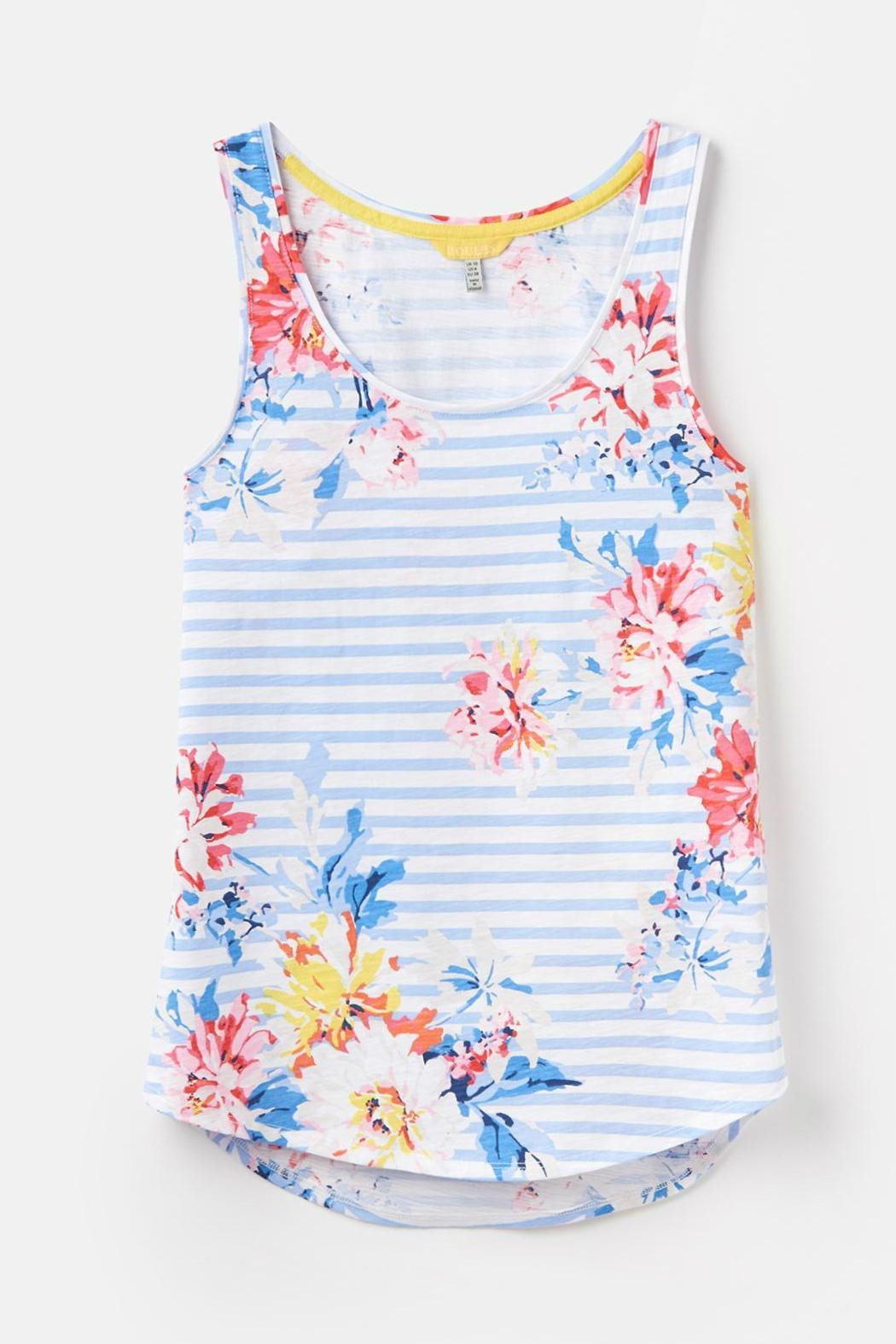 Joules Printed Tank Top - Side Cropped Image