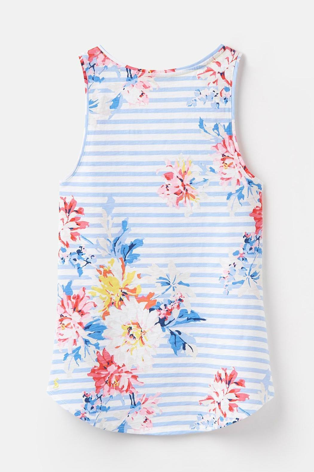 Joules Printed Tank Top - Back Cropped Image