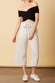 Cotton Candy Printed Tie Pants - Front cropped