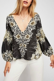 Free People Printed Top - Product Mini Image